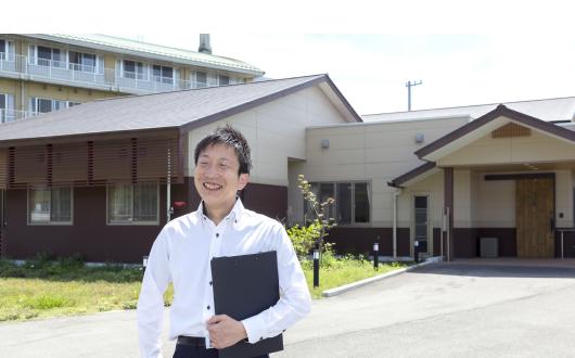松ケ浦荘居宅介護支援事業所 課長 前田 規之