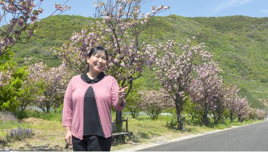 特別養護老人ホーム 松ケ浦荘 施設長 大西 美恵子